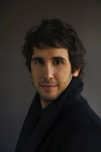 Josh Groban.  Photo by Olaf Heine