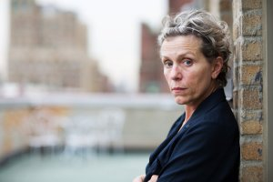 """Frances McDormand will star in """"Olive Kitteridge,"""" a four-part mini-series, based on Elizabeth Strout's book, that will air November on HBO. Credit Alison Cohen Rosa for The New York Times"""